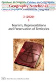 Geography notebooks (2020). Vol. 3: Tourism, Representations and Preservation of Territories