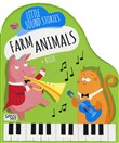 Farm animals. Little sound stories. Con gadget