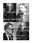 Basic notions of translation theory. Semiotics, linguistics, psychology