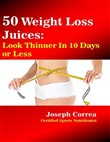 50 Weight Loss Juices: Look Thinner In 10 Days or Less