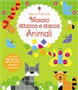 Animali. Mosaici attacca e stacca