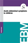 Acute Abdominal Symptoms in Children
