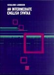 An Intermediate English Syntax