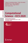 Computational Science – ICCS 2020