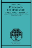 Politologia del linguaggio italiano e tedesco. Metafore concettuali e strategie retorico-narrative al Parlamento Europeo