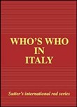 Who's who in Italy 2012 edition