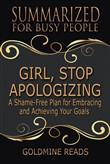 girl, stop apologizing - ...