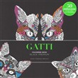 Gatti. Black premium. Colouring book antistress