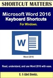 Microsoft Word 2016 Keyboard Shortcuts For Windows