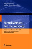 Formal Methods – Fun for Everybody