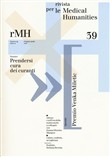 Rivista per le medical humanities (2018). Vol. 39: Prendersi cura dei curanti