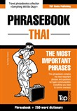 English-Thai phrasebook and 250-word mini dictionary