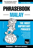 English-Malay phrasebook and 3000-word topical vocabulary