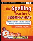 The Spelling Teacher's Lesson-a-Day