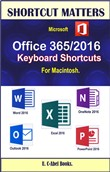 Microsoft Office 365/2016 Keyboard Shortcuts For Macintosh