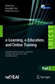 e-Learning, e-Education, and Online Training