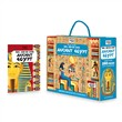 Ancient Egypt. Travel, learn and explore. Con puzzle