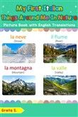 My First Italian Things Around Me in Nature Picture Book with English Translations