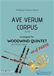 Ave Verum (Mozart) - Woodwind Quintet set of PARTS