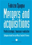 mergers and acquisitions....