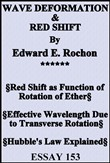 wave deformation & red sh...