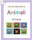 Easy Learning Pictures. Animali.