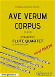 Ave Verum (Mozart) - Flute Quartet set of PARTS