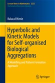 Hyperbolic and Kinetic Models for Self-organised Biological Aggregations
