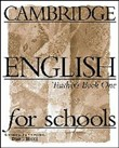 Cambridge english for schools 1 tb Level 1