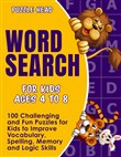 Word Search for Kids Ages 4 to 8