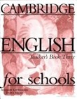 Cambridge english for schools 3 tb Level 3