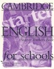 Cambridge english for schools starter tb