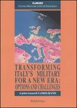 Transforming Italy's military for a new era: options and challenges