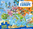 Europe. Travel, learn and explore. Con puzzle