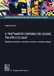 Il trattamento contabile dei leasing tra IFRS e US GAAP. Tendenze evolutive, literature review e contesto italiano