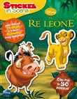 Il re Leone. Sticker in scena. Con adesivi
