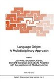 Language Origin: A Multidisciplinary Approach