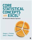 core statistical concepts...