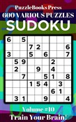 PuzzleBooks Press Sudoku – Volume 10