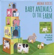 Baby animals of the farm. Animal blocks