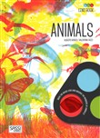 Animals and habitats. Lens book. Con gadget