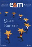 Economia & management (2019). Vol. 1: Quale Europa?