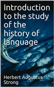 Introduction to the study of the history of language