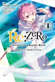Re:ZERO -Starting Life in Another World-, Chapter 3: Truth of Zero, Vol. 8 (manga)