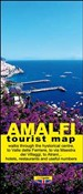 Amalfi. Tourist map of Amalfi and Atrani