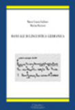 Manuale di linguistica germanica