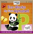 My first alphabet. Eco-blocks. Con gadget