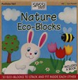 Nature. Eco-blocks. Con gadget