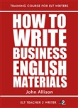 how to write business eng...