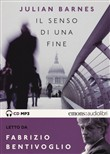 Il senso di una fine letto da Sergio Rubini. Audiolibro. CD Audio formato MP3